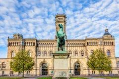 Université à Hannovre photo stock