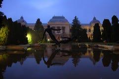 Université Alexandru Ioan Cuza d'Iasi, Roumanie Image stock