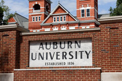 Université auburn photos stock