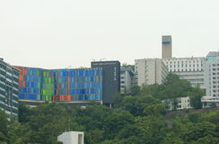 Université chinoise de Hong Kong photo libre de droits