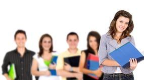 université d'étudiants Image libre de droits