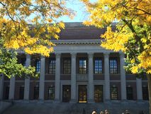 Université d'Harvard Image stock