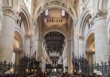 Université d'Oxford Angleterre d'église du Christ Image stock