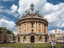 Université d'Oxford Angleterre d'appareil-photo de Radcliffe Image stock