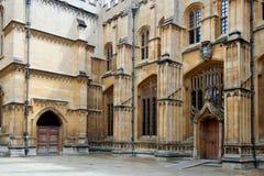 Université d'Oxford bodleian de bibliothèque Photo stock