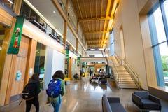Université de bâtiment d'ÉMEU de campus de l'Orégon Image stock