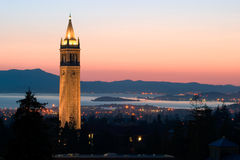 Université de Berkeley photo stock