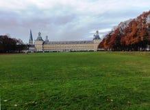 Université de Bonn : Vue au-dessus du Hofgarten Images stock