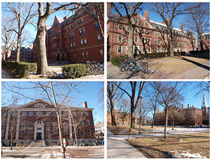 Université de Boston Photos stock
