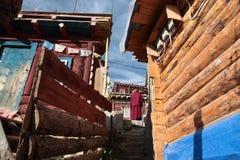 Université de bouddhisme de Seda Larong Wuming Photo libre de droits