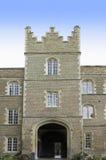 Université de Cambridge, porche d'université de Jésus Photographie stock libre de droits