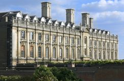 Université de Cambridge, université de Clare Photos libres de droits