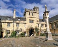Université de campus de Corpus Christi d'Oxford image stock