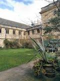 Université de campus de Corpus Christi d'Oxford photo stock