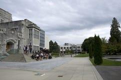 Université de campus Vancouver de Colombie-Britannique Image stock