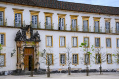 Université de Coimbra Photo stock