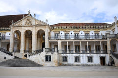 Université de Coimbra Photo libre de droits