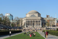 Université de Columbia Photo stock