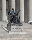 Université de Columbia d'alma mater Image stock