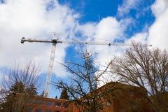 Université de construction de l'Orégon images libres de droits