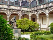 Université de Fonseca - Santiago de Compostela images libres de droits
