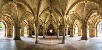 Université de Glasgow Cloisters, Ecosse Images libres de droits