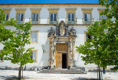 Université de Pedro de sao à l'université de Coimbra portugal photographie stock