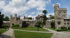 Université de Princeton, Etats-Unis Photo stock