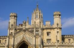 Université de rue John à Cambridge Photographie stock libre de droits