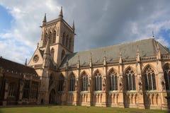 Université de St Johns. Cambridge. LE R-U Images stock