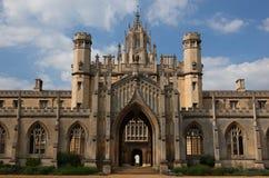 Université de St Johns. Cambridge. LE R-U. Photos stock