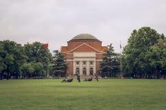 Université de Tsinghua au printemps 2 image stock
