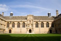 Université de Wadham, Oxford Image stock