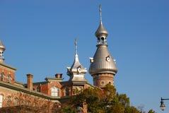 Université des tours de Tampa photo libre de droits