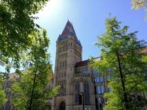 Université du bâtiment de Manchester Whitworth photos libres de droits