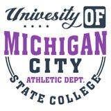 Université du Michigan Photo libre de droits