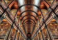 Université Dublin, Irlande de trinité image libre de droits