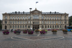 Université Helsinki de bâtiment principal Photos stock