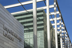 Université impériale Londres - Angleterre photo libre de droits