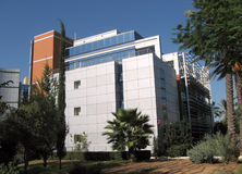 Université Katz de Bar-Ilan construisant 2009 Image libre de droits