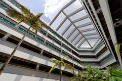 Université nationale de campus de Singapour images libres de droits
