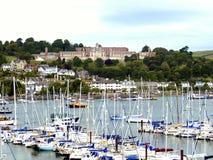 Université navale royale de Dartmouth Britannia, Devon. images stock