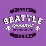Université Seattle de conception Image stock