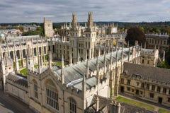 Université d'Oxford Images libres de droits