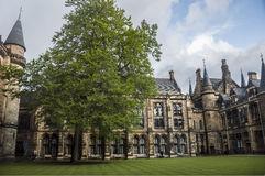 Université de cour intérieure de Glasgow Images stock