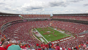 Université de l'Alabama Gameday Image stock