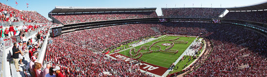 Università di Alabama Gameday Immagini Stock Libere da Diritti