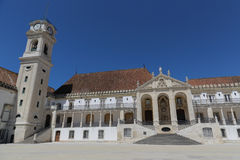Università di Coimbra Immagine Stock