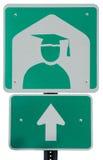 Université en avant Image libre de droits