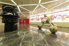 Universita Metro Naples Stock Photos